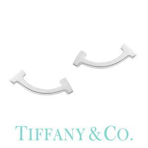 Tスマイル (純正紙袋&BOX付き) ティファニー K18 ゴールド 金属アレルギー レディース ピアス 小さめ シンプル Tiffany&co ブランド Tコレクション Tiffany T 36667303 [ ホワイト女性 彼女 誕生日 お