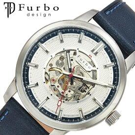[5年保証]フルボデザイン腕時計 Furbodesign時計 Furbo design 腕時計 フルボ デザイン 時計 ポテンザ POTENZA メンズ ホワイト F8203SNVNV [ 人気 ブランド ファッション カジュアル スーツ ビジネス フォーマル スケルトン プレゼント ギフト ]