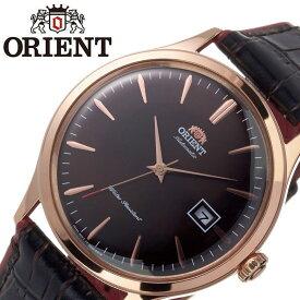 オリエント腕時計 ORIENT時計 ORIENT 腕時計 オリエント 時計 バンビーノ クラシック BAMBINO CLASSIC メンズ ブラウン ORW-FAC08001T0 [ ブランド 就活時計 防水 レトロ クラシカル 自動巻き 機械式 レザー 革ベルト 記念日 ] 新生活 プレゼント ギフト