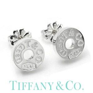 TIFFANY&CO ジュエリー ティファニー ピアス 1837 レディース 19710424 [ サークル ピアス シルバー 人気 ブランド 小さめ 小さい シンプル 大人 かわいい おしゃれ 上品 ロゴ 彼女 女性 記念日 結婚