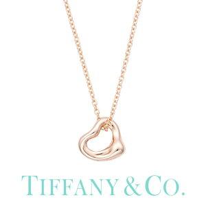 ティファニー ネックレス オープンハート 7mm Tiffany&co ジュエリー エルサ・ペレッティ Elsa Peretti レディース60957436 [ 誕生日 女性 ブランド おしゃれ シンプル ミニ ペンダント K18 18金 ローズ