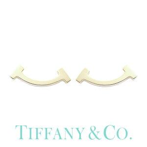 TIFFANY&CO ジュエリー ティファニー ピアス Tコレクション Tスマイル Tiffany T レディース 63055352 [ 人気 ブランド アクセサリー 華奢 小さい 小さめ シンプル 金 18金 18K 彼女 女性 大人 おしゃれ
