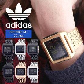 \ペアウォッチ/ デジタル 腕時計 おしゃれ スクエア型 アディダス腕時計 adidas時計 adidas レディース ブランド アディダス スニーカー 時計 アーカイブ ARCHIVE_M1 メンズ [ デジタル スポーツ シンプル フルメタル 韓国 ストリート プレゼント ギフト ]