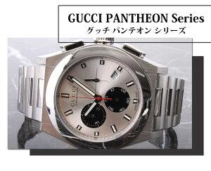 グッチ腕時計GUCCI時計GUCCI腕時計グッチ時計パンテオンPANTHEONメンズ/ブラックYA115235[新作/人気/ブランド/防水/高級/おすすめ/ファッション/プレゼント/ギフト/メタル]