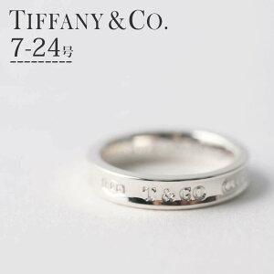ティファニー 1837 リング シルバー925 指輪 ブランド【7 8 9 11 13 15 16 18号】( ペアリング おすすめ ) 30代 夫婦 カップル お揃い Tiffany&co レディース エンゲージ 女性 22993771 [ おしゃれ シンプル