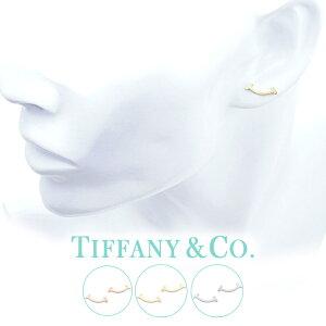 [当日出荷] Tスマイル ( 18金 金属アレルギー 安心 ) Tiffany&co ピアス ティファニー Tiffany T レディース シンプル 36667249 [ 女性 彼女 誕生日 おしゃれ 人気 ピアス Tコレクション シルバー925 K18 ]T