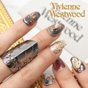 ヴィヴィアン ペアリング アーマーリング ブラック 指輪 ヴィヴィアン ウエストウッド Vivienne Westwood ARMOUR レディース 女性 [ ビビアン 13号 中指 おしゃれ ブランド スターリングシルバー925
