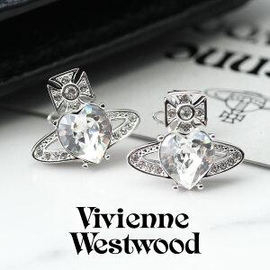 Vivienne Westwood ジュエリー ヴィヴィアン ウエストウッド ピアス アリエラ ARIELLA レディース 62030011W [ 人気 ブランド ビビアン ウェストウッド ハート ストーン 女性 彼女 シンプル おしゃれ 大