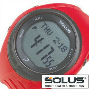ソーラス腕時計[SOLUS時計](SOLUS 腕時計 ソーラス 時計)心拍時計(ハートレートモニター) 時計 01-300-04 [ 正規品 スポーツ ダイエット エクササイズ ギフト プレゼント ご褒美][おしゃれ 腕時計]