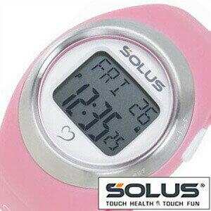 ソーラス腕時計[SOLUS時計](SOLUS 腕時計 ソーラス 時計)心拍時計(ハートレートモニター) 時計 01-800-07 [ 正規品 スポーツ ダイエット エクササイズ ギフト プレゼント ご褒美][おしゃれ 腕時計]