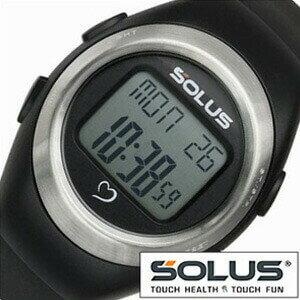 ソーラス腕時計[SOLUS時計](SOLUS 腕時計 ソーラス 時計)心拍時計(ハートレートモニター) 時計 01-800-201 [ 正規品 スポーツ ダイエット エクササイズ ギフト プレゼント ご褒美][おしゃれ 腕時計]