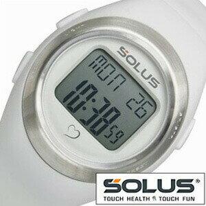ソーラス腕時計[SOLUS時計](SOLUS 腕時計 ソーラス 時計)心拍時計(ハートレートモニター) 時計 01-800-202 [正規品 スポーツ ダイエット エクササイズ ギフト クリスマス プレゼント x'mas ご褒美][おしゃれ 腕時計]