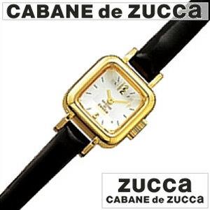カバン ド ズッカ腕時計[CABANE de ZUCCA]( CABANE de ZUCCA 腕時計 カバン ド ズッカ 時計 )CABANEdeZUCCA(カバンドズッカ)CARAMEL(キャラメル) ブラック メンズ レディース 男女兼用時計AWGP007 おしゃれ ブランド プレゼント ギフト ]