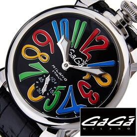 [あす楽]ガガミラノ腕時計[GaGaMILANO時計](GaGa MILANO 腕時計 ガガ ミラノ 時計)マヌアーレ 48MM アッチャイオ(MANUALE 48MM ACCIAIO) メンズ時計GG-5010.2S[ギフト プレゼント ご褒美][ おしゃれ ブランド ] クリスマス 誕生日 冬ギフト