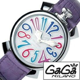 [あす楽]ガガミラノ腕時計[GaGaMILANO時計](GaGa MILANO 腕時計 ガガ ミラノ 時計)マヌアーレ 40MM アッチャイオ(MANUALE 40MM ACCIAIO) 時計GG-5020.7[ギフト プレゼント ご褒美][おしゃれ 腕時計] クリスマス 誕生日 冬ギフト