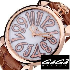 [あす楽]ガガミラノ腕時計[GaGaMILANO時計](GaGa MILANO 腕時計 ガガ ミラノ 時計)マヌアーレ 40MM プラカット オロ(MANUALE 40MM PLACCATO ORO) 時計GG-5021.2[ギフト プレゼント ご褒美][おしゃれ 腕時計] クリスマス 誕生日 冬ギフト