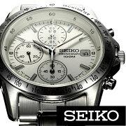 【レビューを書いて特別価格+無料!】セイコー腕時計[SEIKO時計](SEIKO腕時計セイコー時計)クロノグラフ/メンズ時計/SND363PC