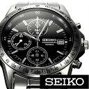 [ 5年延長保証 ][セイコー腕時計[ SEIKO時計 ](SEIKO 腕時計 セイコー 時計)クロノグラフ メンズ時計 SND367PC [ ギフ…