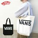 トートバッグ VANS ゆうパケット送料無料 キャンバス バンズ ブランド A4 B4 トート エコバッグ レジ袋 メンズ レディ…