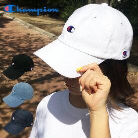【ゆうパケット送料無料】チャンピオン 帽子 キャップ ローキャップChampion LOW 別注 当店限定 ツイル デニム ワンポイント 浅 カーブ cap ロゴ CAP ブラック ネイビー ライトブルー メンズ レディース ストリート
