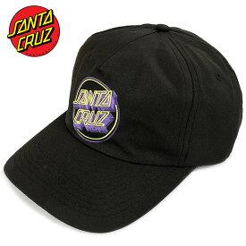 サンタクルーズ キャップ 送料無料 SANTA CRUZ SANTACRUZ ブランド メンズ レディース ブラック LINEAR DOT LOW CAP リニアドット ロゴ クラシックドット スケート ストリート 帽子 ローキャップ ベースボールキャップ BASEBALL CAP