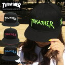 スラッシャー キャップ THRASHER ベースボールキャップ 帽子 メンズ レディース ブランド 送料無料 マークゴンザレス …