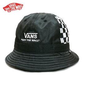 【ゆうパケット送料無料】VANS バンズ バケットハット cap ヴァンズ メンズ レディース Crazy pattern ブランド ブラック ロゴ チェッカー スケート スケーター
