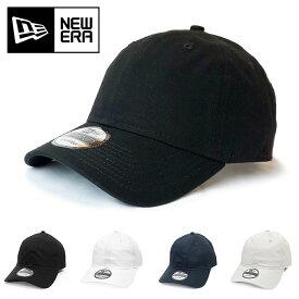 ニューエラ キャップ NEWERA 無地 9TWENTY CAP 帽子 ゴルフ ローキャップ人気 メンズ レディース アジャスター 野球 ブラック ADJUSTABLE UNSTRUCTURED LOW NE201