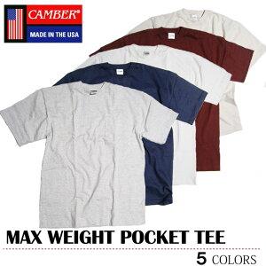 【ゆうパケット送料無料】 CAMBER キャンバー Tシャツ 8オンス 302 MAX WEIGHT マックスウェイト ポケット ポケT ビッグ スポーツ