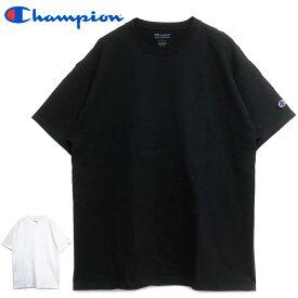 チャンピオン Tシャツ ゆうパケット送料無料 Champion 無地 半袖Tシャツ T525 ショートスリーブ Tシャツ ショートTシャツ ビッグシルエット オーバーサイズ メンズ レディース ワンポイント 6oz 6オンス 黒 ブラック ホワイト 白