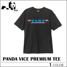 【ゆうパケット送料無料】 ENJOI エンジョイ Tシャツ パンダバイス PANDA VICE ブラック メンズ レディース スケート 10P30May15