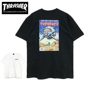 【ゆうパケット送料無料】 スラッシャー Tシャツ THRASHER COMIC #8 S/S TEE 2020年新作 グラフィック アメコミ バックプリント メンズ レディース ブラック ホワイト コミック トップス T-SHIRTS スケート ストリート