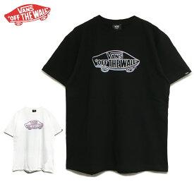 【ゆうパケット送料無料】 VANS OFF THE WALL Tシャツ バンズ ヴァンズ ブランド メンズ レディース 半袖 ブラック ホワイト 白黒 インナー レイヤード ロゴ Tint OTW S/S TEE トップス スケート ストリート サーフ