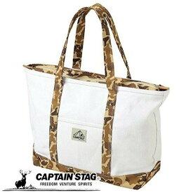キャプテンスタッグ トートバッグ かばん コットントートバッグ キャンプアウト Lサイズ