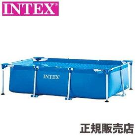 プール レクタングラフレームプール 260x160x65cm 28271 INTEX(インテックス)