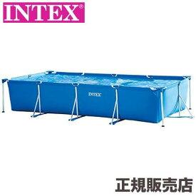 レクタングラフレームプール 450×220×84cm 28273 INTEX(インテックス)