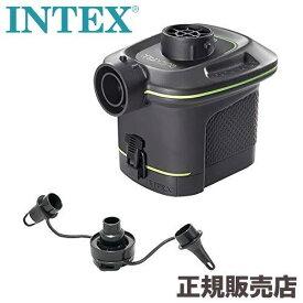 プール 空気入れ 電動 ポンプ バッテリーポンプ 電池式 単二 6本 屋内 屋外 66638 INTEX【cate_8】