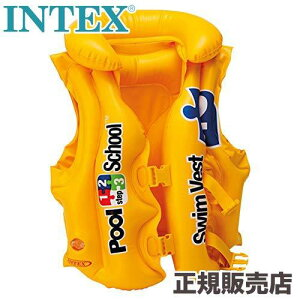 INTEX(インテックス) 浮き輪 デラックススイムベスト ステップ2 58660 [日本正規品]