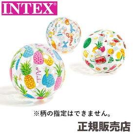 ライブリープリント ビーチボール 51cm 59040 【柄指定不可】 INTEX