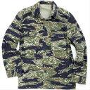 SESSLER(セスラー)Vietnam Tiger Stripe Jacket 3 Pocket Blue Tiger ベトナム タイガーストライプ ジャケット [コ…