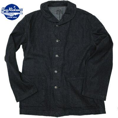 BUZZ RICKSON'S(バズリクソン) Navy Denim Work Jacket[BR12744A]【送料無料】