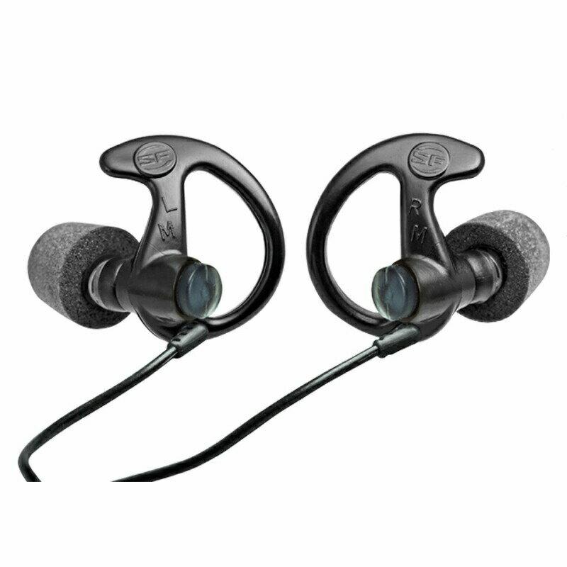 SUREFIRE(シュアファイア) EP10 Sonic Defenders Ultra Max Full Black Foam-Tipped Earplugs [耳栓]