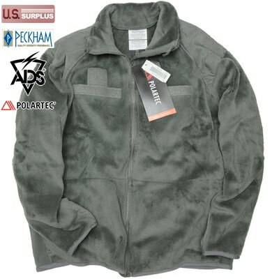 US(米軍放出品)ECWCS Gen III Level 3 Fleece [Foliage][ポーラテック]