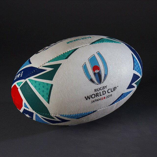 【RWC2019】 ラグビー ワールドカップ 2019 ギルバート レプリカ ボール ラグビーボール 5号 GB9011