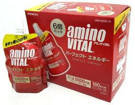 【6個入りパック】 味の素 アミノバイタル パーフェクトエネルギー ゼリー