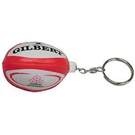 【GILBERT】 ギルバートミニボール ジャパン キーリング ラグビーボール キーホルダー GB9251