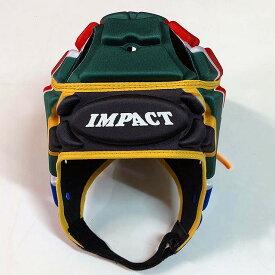 【送料無料】 【IMPACT】 インパクト スプリングボクス ラグビー ヘッドキャップ ヘッドギア 南アフリカ 【V2 Premium Vented】