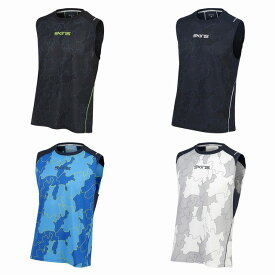 【SKINS】 スキンズ 総柄 ノースリーブシャツ プラクティスウェア ラグビー KMMNJA57