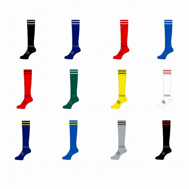 【お得な3足セット】 ラグビー サッカー フットサル ストッキング ソックス 靴下 大人 【27〜29cm】