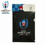 ラグビーワールドカップ2019™日本大会クリアファイル(2枚セット)ブラック公式ライセンスグッズ